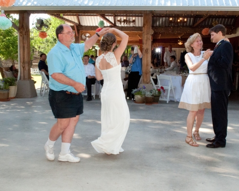 Father of the Bride And Mother of the Groom Dance